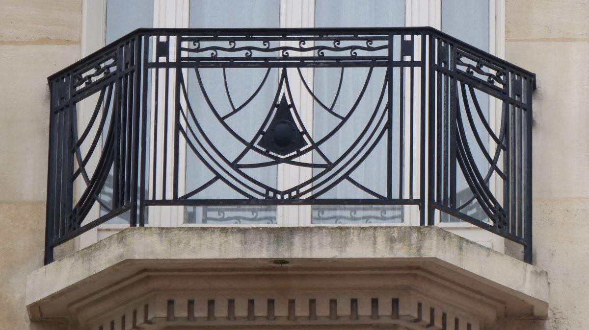 Balcon décors géometriques