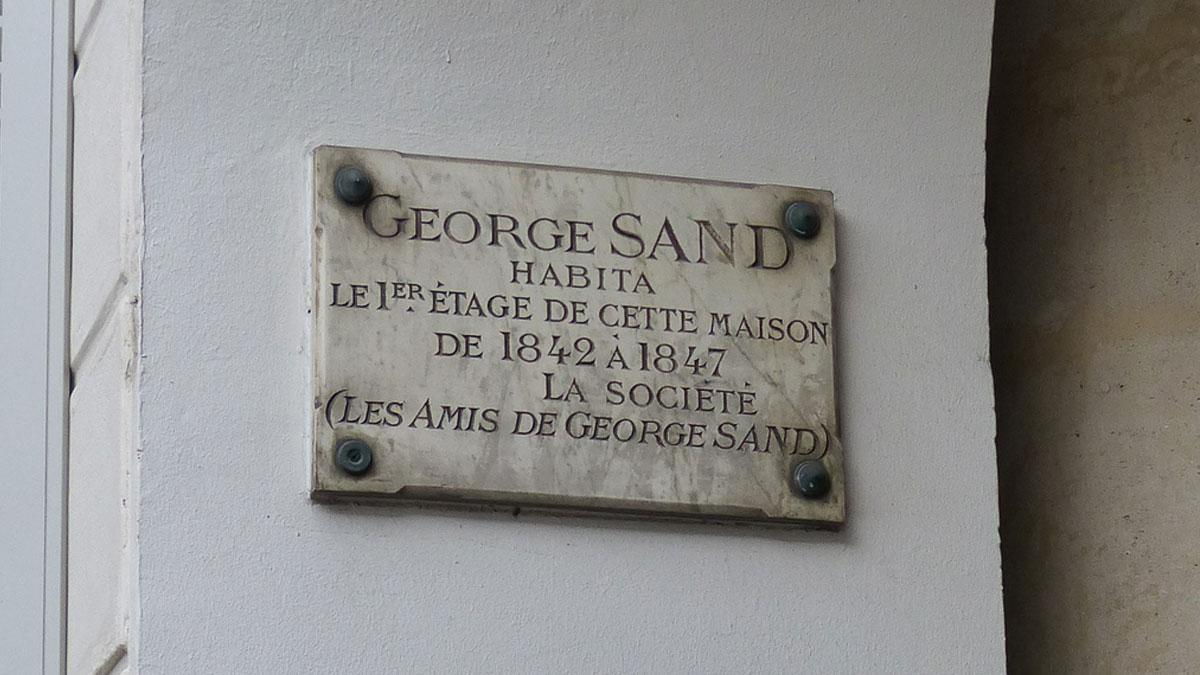 Maison george sand