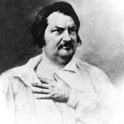 Nadar Honore de Balzac